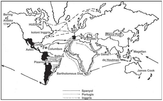 Negara-negara di dunia dan pelayaran samudra