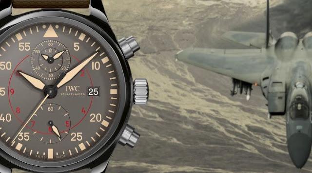 Réplique Montre IWC Pilot Top Gun Miramar Chronographe Automatique ref. IW389002