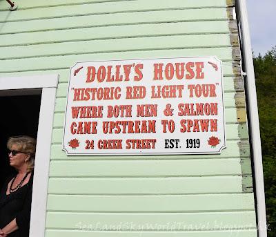 Ketchikan,  克奇坎, 凱奇坎, Creek Street, Dollys House