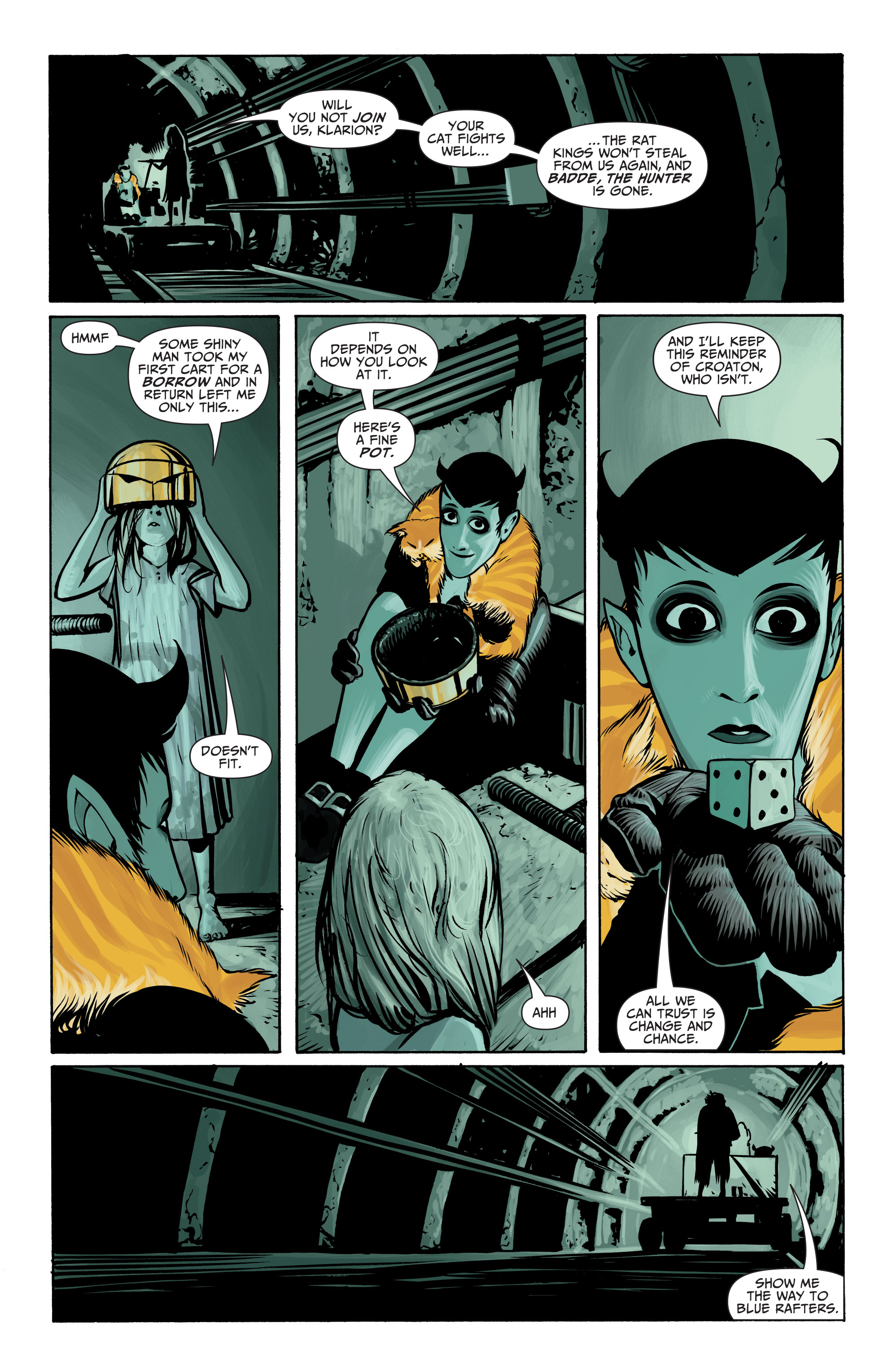 Read online Seven Soldiers: Klarion the Witch Boy comic -  Issue #2 - 21