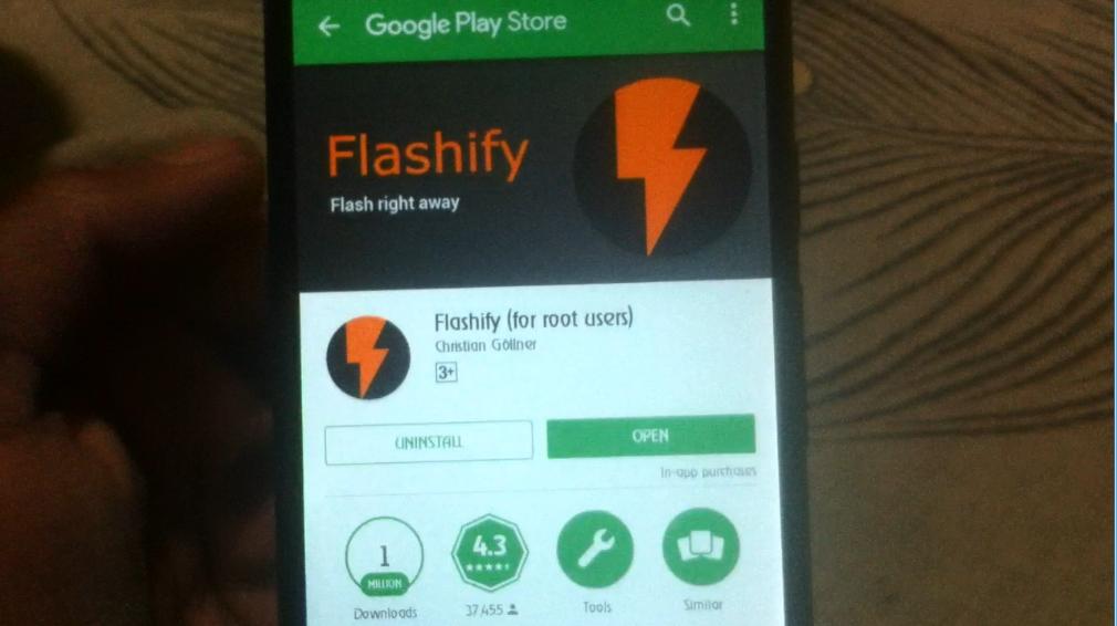 Flashify No Root Access Apk