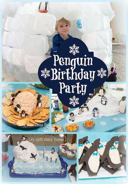 How to Throw a Chilling Penguin Birthday Party