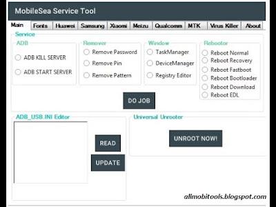 MobileSea Service Tool Full Setup Latest Version Free Download