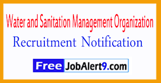 WASMO  Water and Sanitation Management Organization  Recruitment Notication 2017 Last Date 17-07-2017