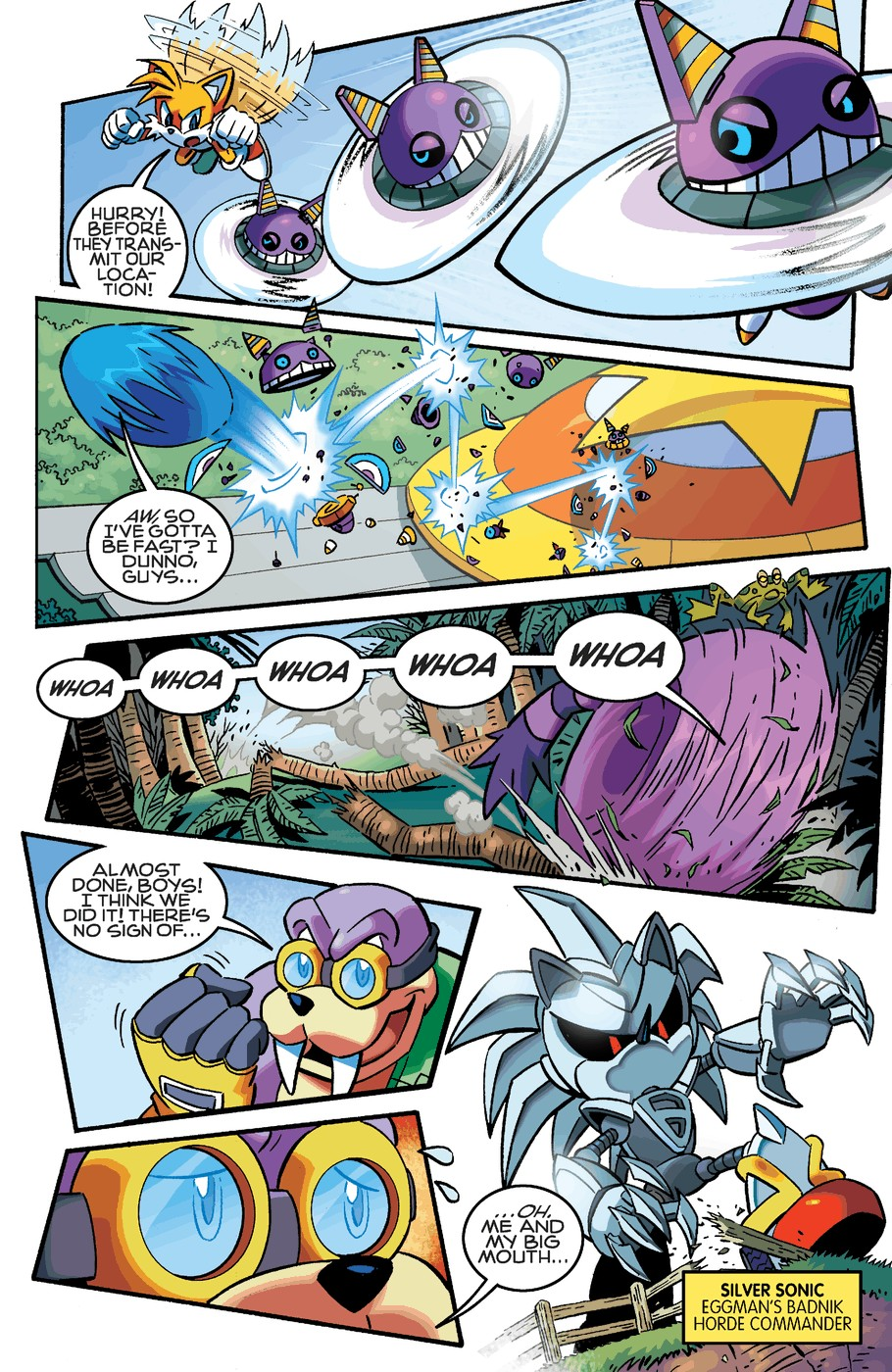 Read online Sonic The Hedgehog comic -  Issue #253 - 14