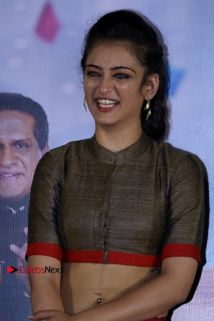 Actress Akshara Haasan Stills in Skirt and Blouse at Laali Ki Shaadi Mein Laddoo Deewana Trailer Launch  0002.jpg