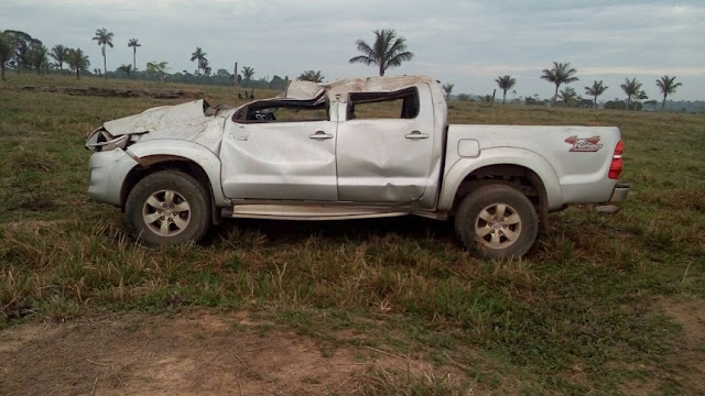 Discussão e tragédia! Condutor de camionete perde o controle, capota e mata garota de programa em Seringueiras