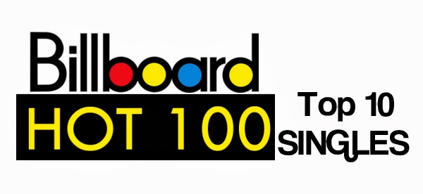 Billboard Top 10 songs for the week 3/1/14