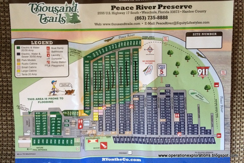 Operation Explorations Review Peace River Rv Campground