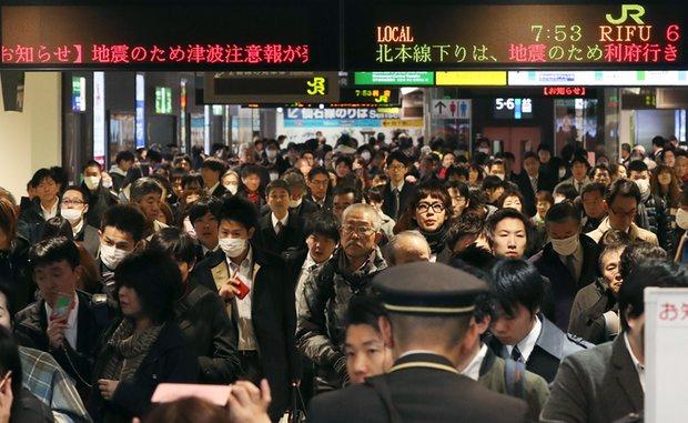 Πολύ ισχυρός σεισμός στην Φουκουσίμα (βίντεο)