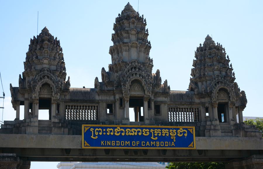przejście graniczne tajlandii z kambodżą