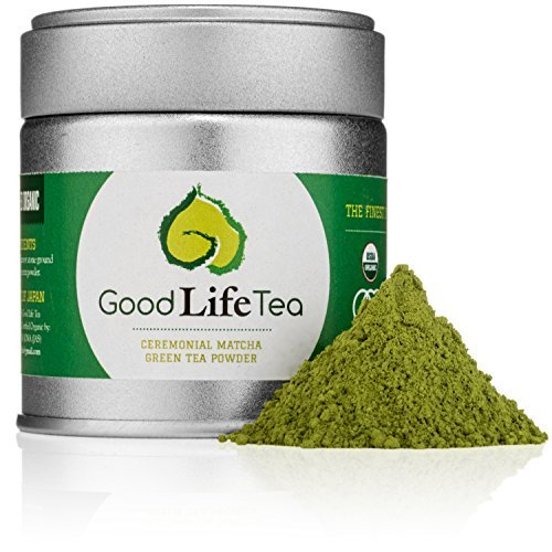 Good Life Tea Organic Ceremonial Matcha Green Tea Powderborder