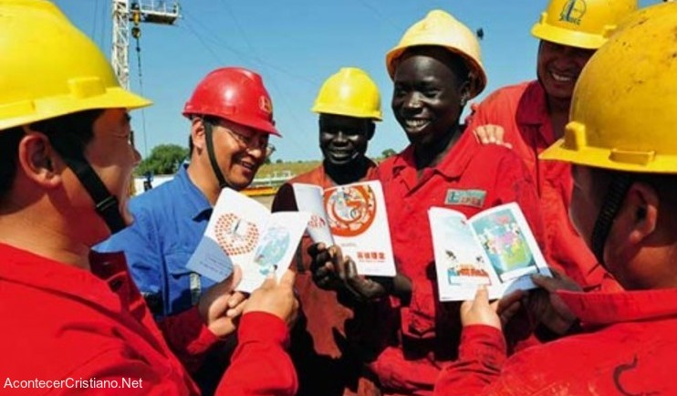 Evangelismo de trabajadores chinos en África