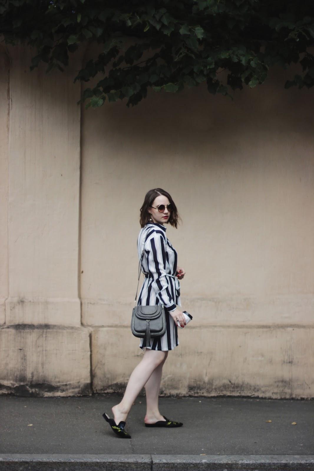 Fashion Blogger   Look 2017   Striped Dress