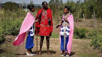 Kenya: Umugabo w'umumasayi yarongoye abagore babiri umunsi umwe