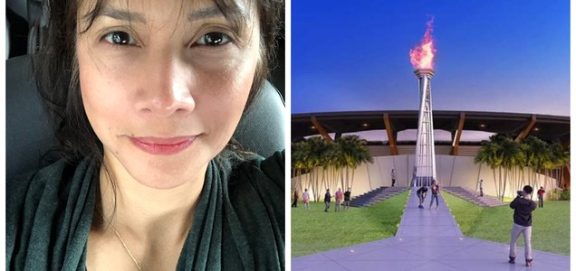 "Agot Isidro criticizes government for building P50-M SEA games cauldron: ""Sa g*guhan na ganito napupunta ang buwis natin!"" 