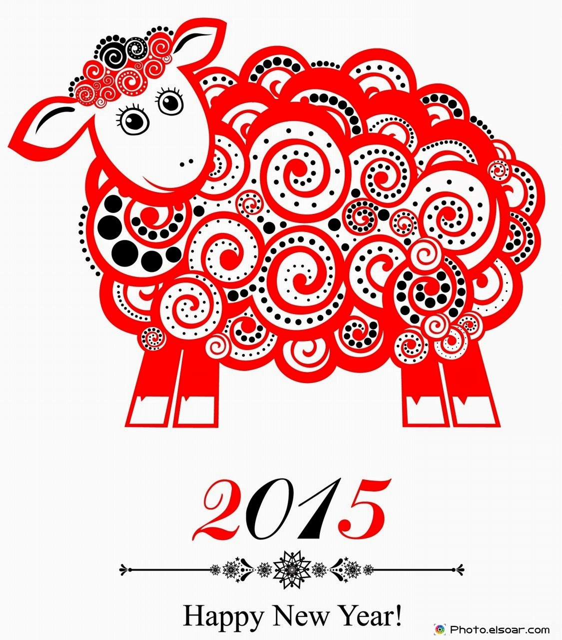Happy Chinese New Year 2015 Stock Vector - Illustration of ...  Happy Chinese New Year 2015