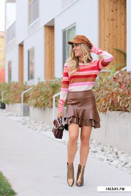 Faldas y botines