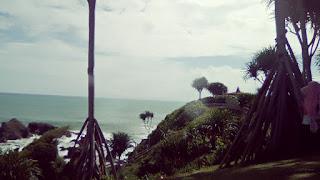 Pantai Karang Tawulan Tasikmalaya Jawa Barat Indonesia