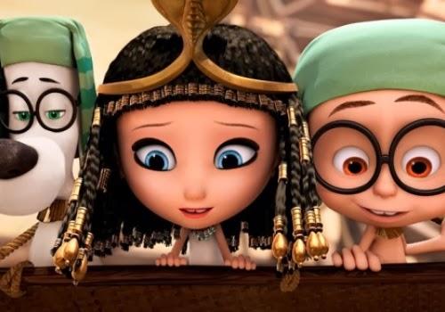 Mr. Peabody & Sherman DreamWorks Animation 2014 animatedfilmreviews.filminspector.com