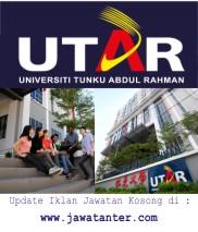 Jawatan Kosong Universiti Tunku Abdul Rahman (UTAR)