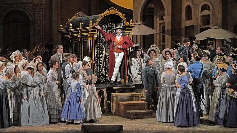 Προβολή της όπερας «Το Ελιξίριο του Έρωτα» του Ντονιτσέτι στο Δημοτικό Θέατρο Αλεξανδρούπολης