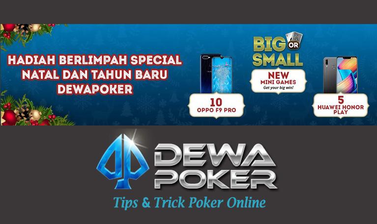 Event Hadiah Berlimpah Special Natal & Tahun Baru 2019 Dewa Poker  | Game Poker Online Indonesia Terpercaya | Judi Poker | Agen Poker by dewapoker.net