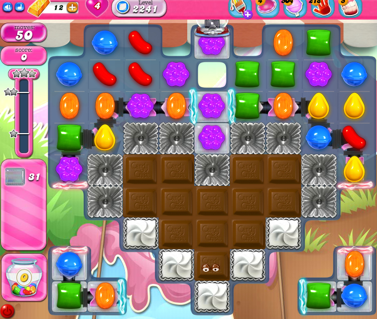 Candy Crush Saga level 2241