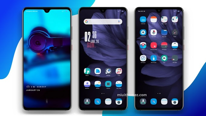 DNCK woek v11 MIUI Theme | Amazing Dark Look for Your Xiaomi Device