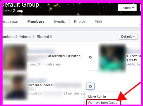how to delete a group i created on facebook