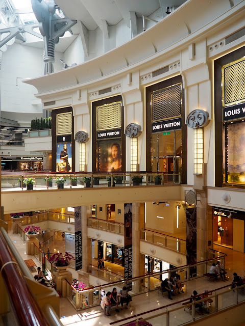 Inside Taipei 101 shopping mall, Taipei, Taiwan
