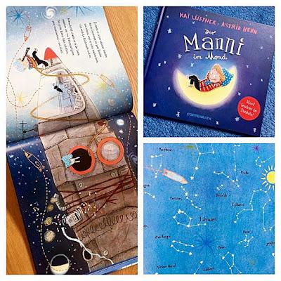 """""""Der Manni im Mond"""" von Kai Lüftner und Astrid Henn, Kinderbuch"""