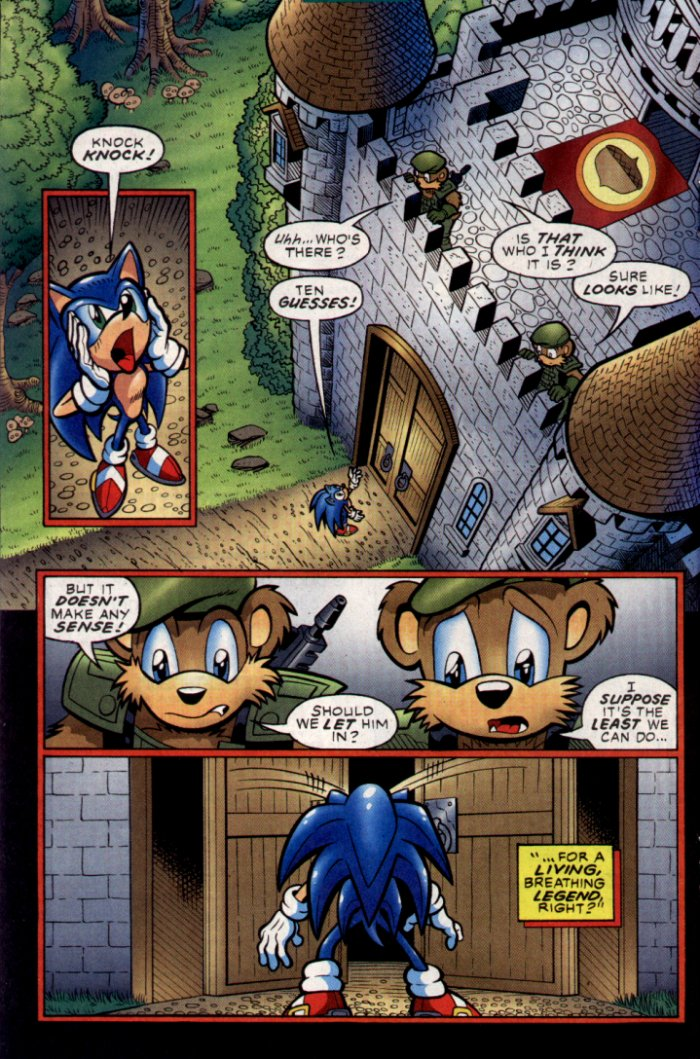 Read online Sonic The Hedgehog comic -  Issue #130 - 14