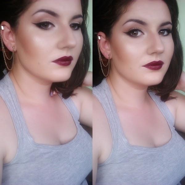 bold make-up