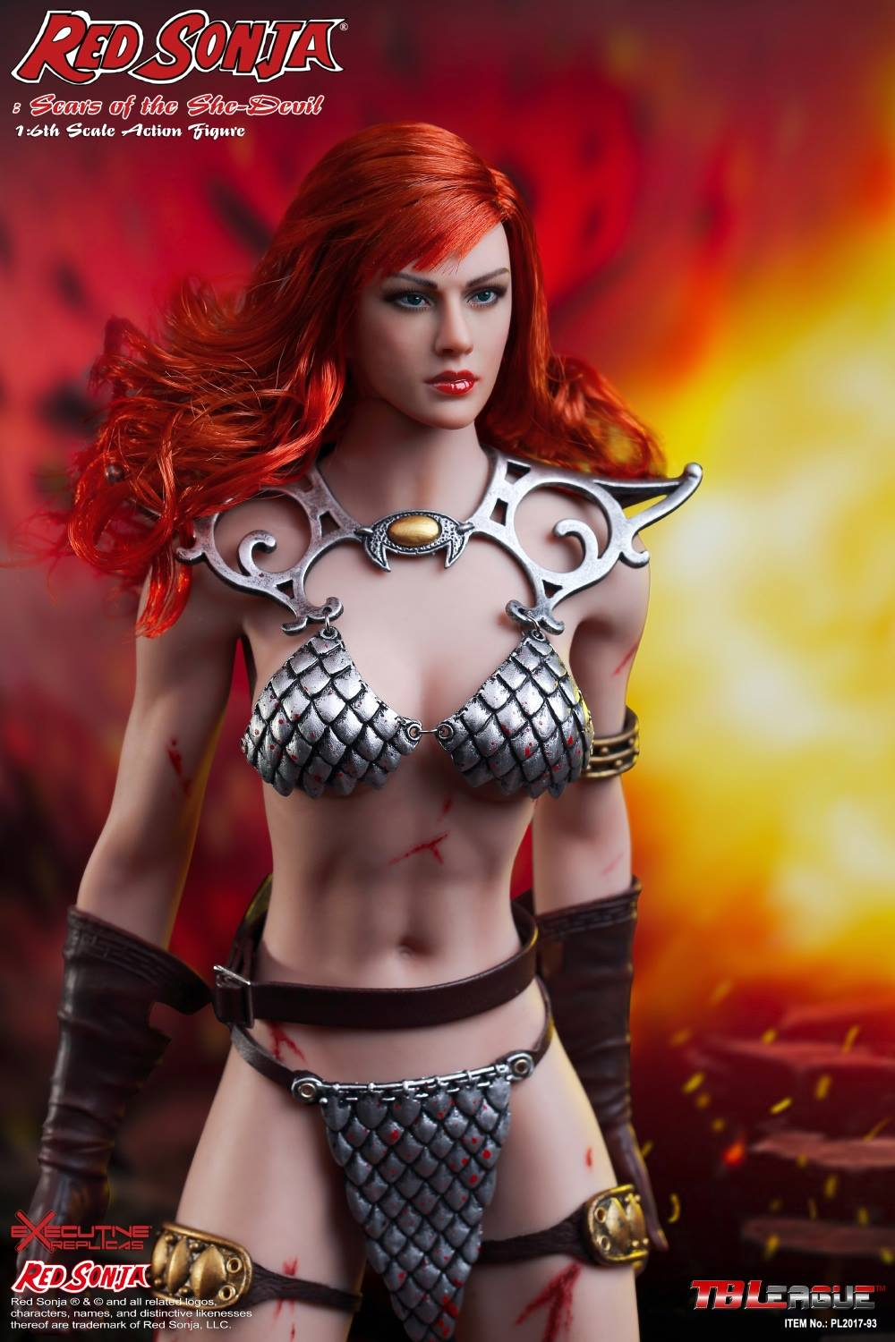 PHICEN - Red Sonja: Scars of the She-Devil  8