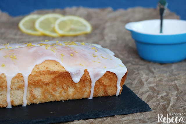 Bizcocho de limón (lemon cake)