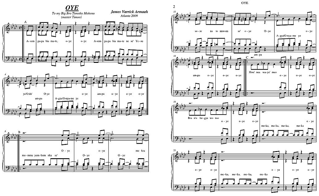 Song sheet music popular songs : How