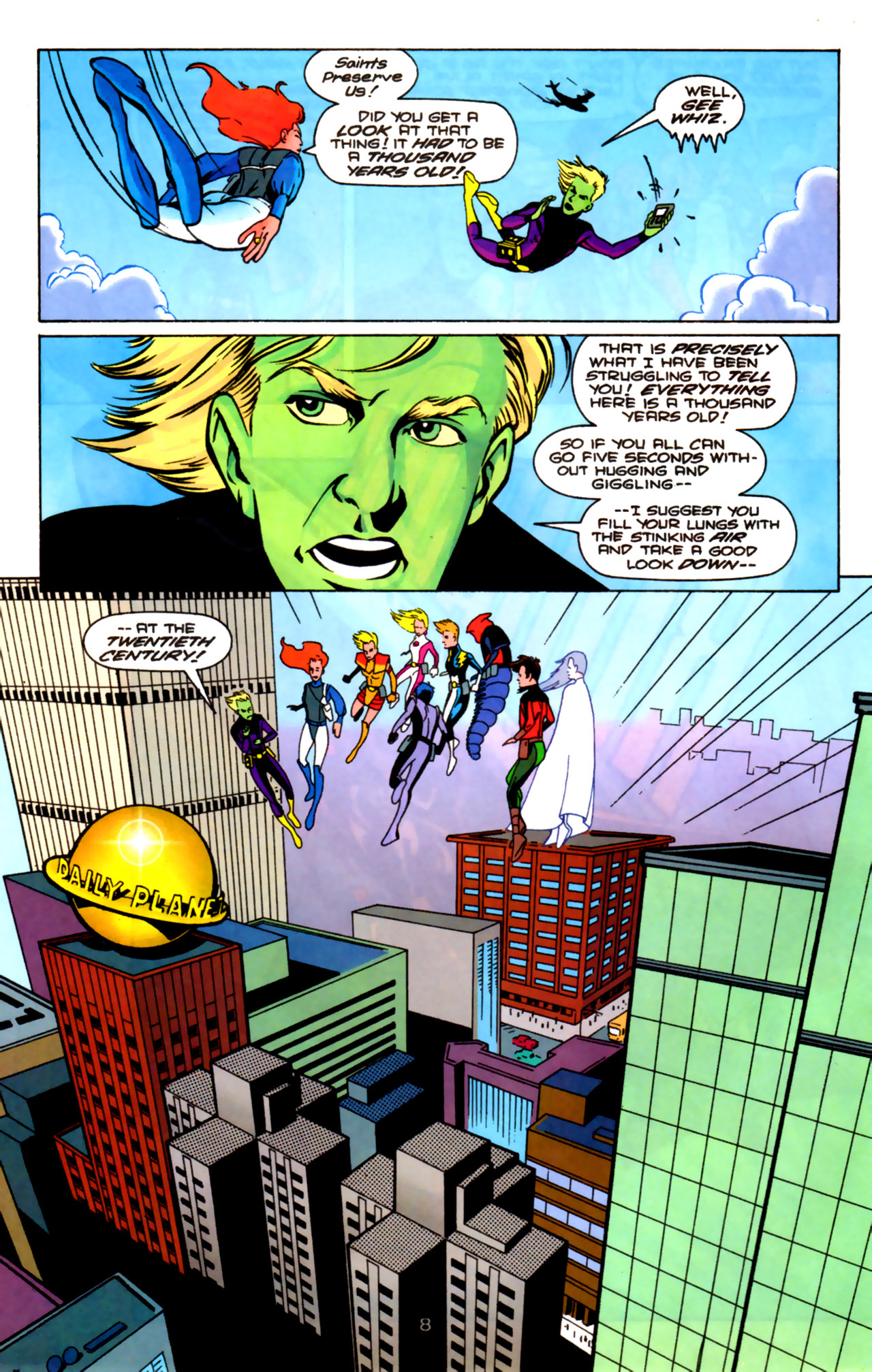 Legion of Super-Heroes (1989) 85 Page 7