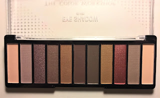The Color Workshop Fashion Palace natural eyeshadow palette