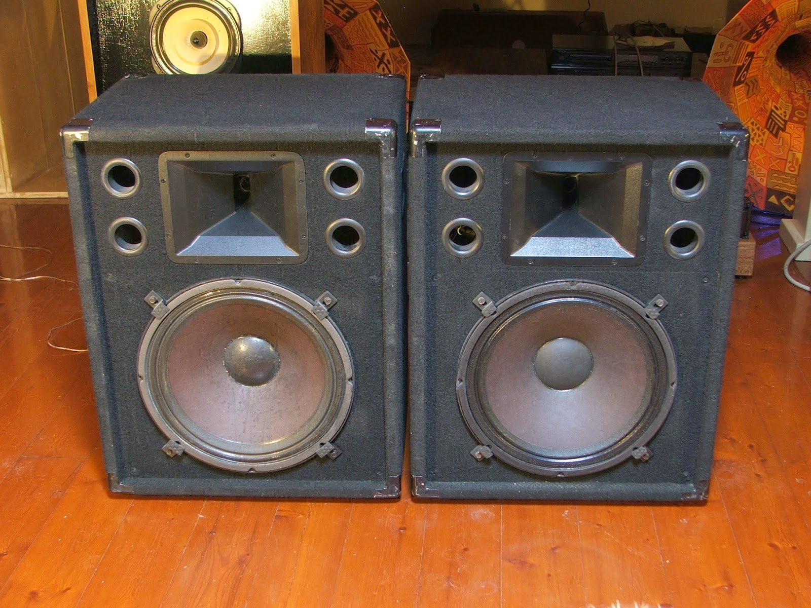 Electro Voice S 152 Two Way Stage System