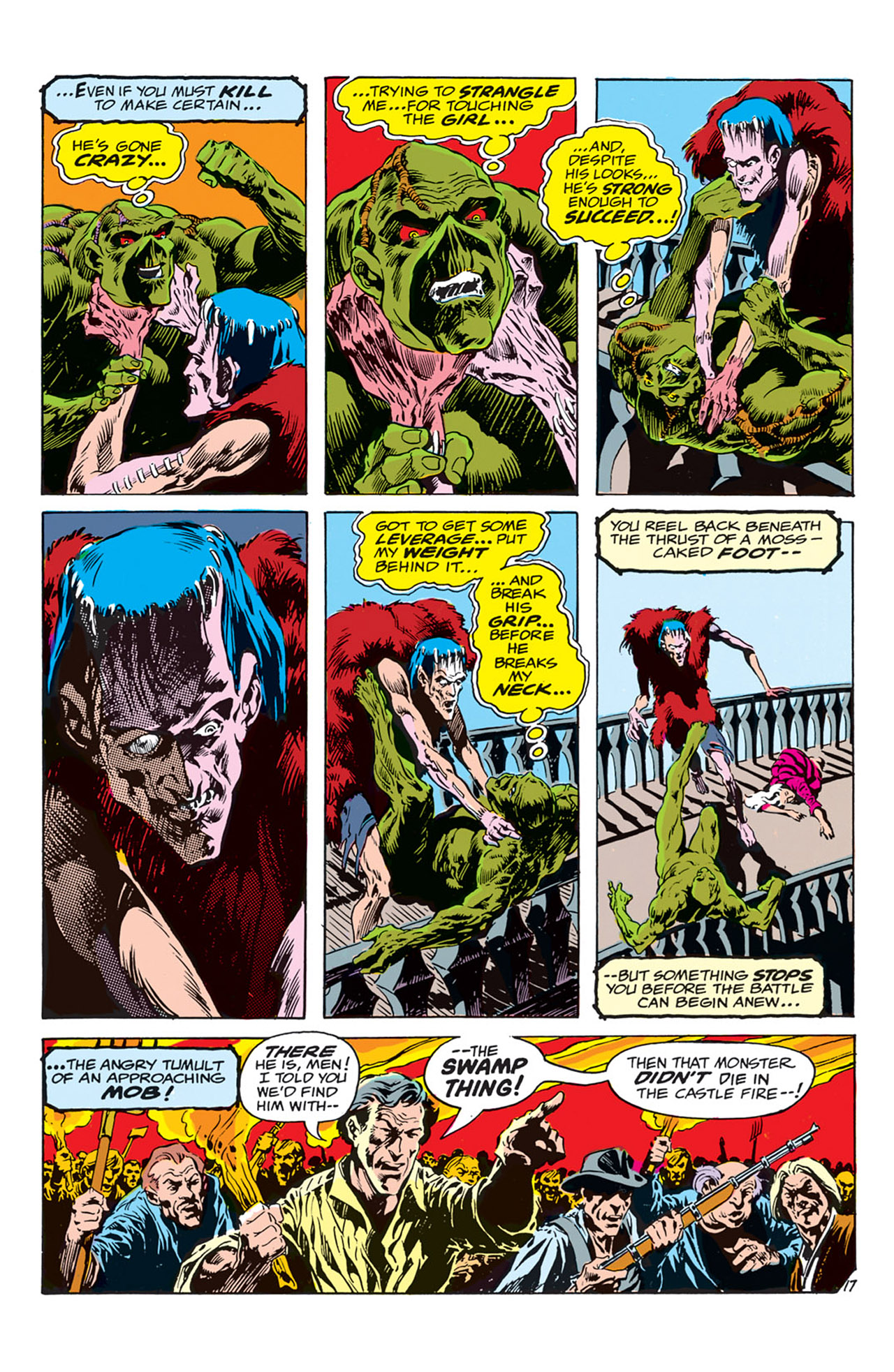 Swamp Thing (1972) Issue #3 #3 - English 18