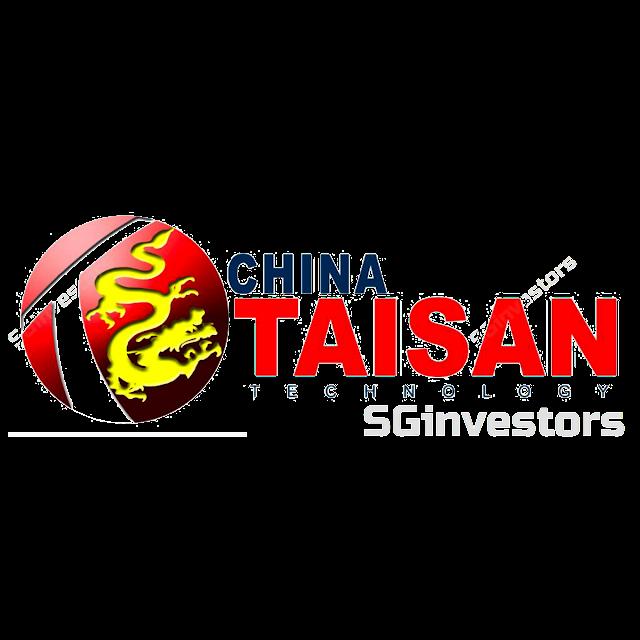 CHINA TAISAN TECH GRP HLDGSLTD (AZW.SI) @ SG investors.io