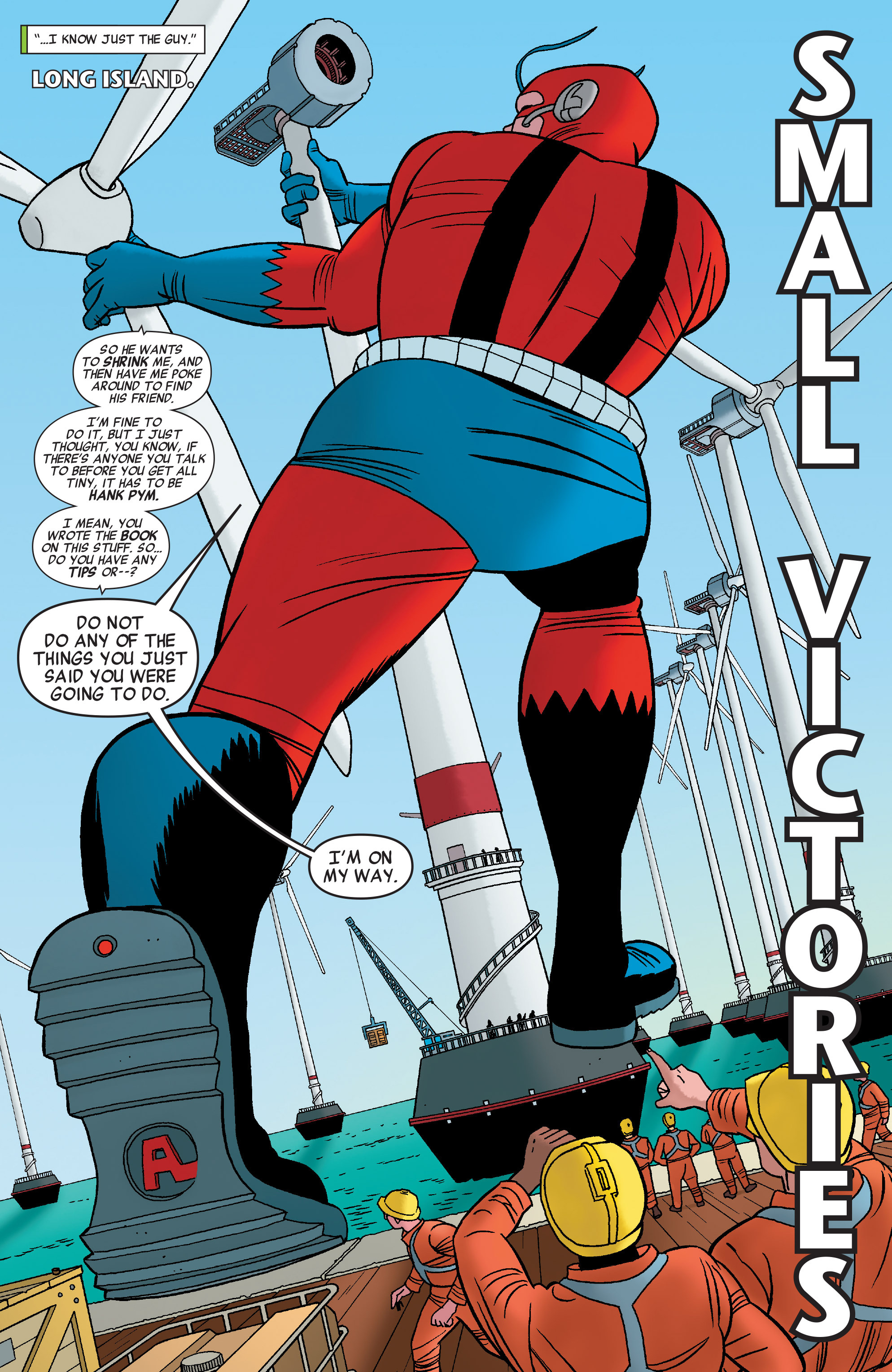 Read online She-Hulk (2014) comic -  Issue #7 - 5