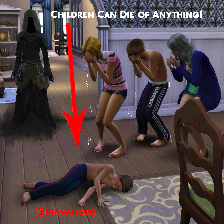 My Sims 4 Blog: Simstopics Children Can Die Of Anything