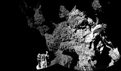European Space Agency Comet Landing Image