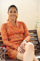 Actress Mumtaz Sorcar Stills in Short Dress at Guru Movie Success meet  0184.JPG