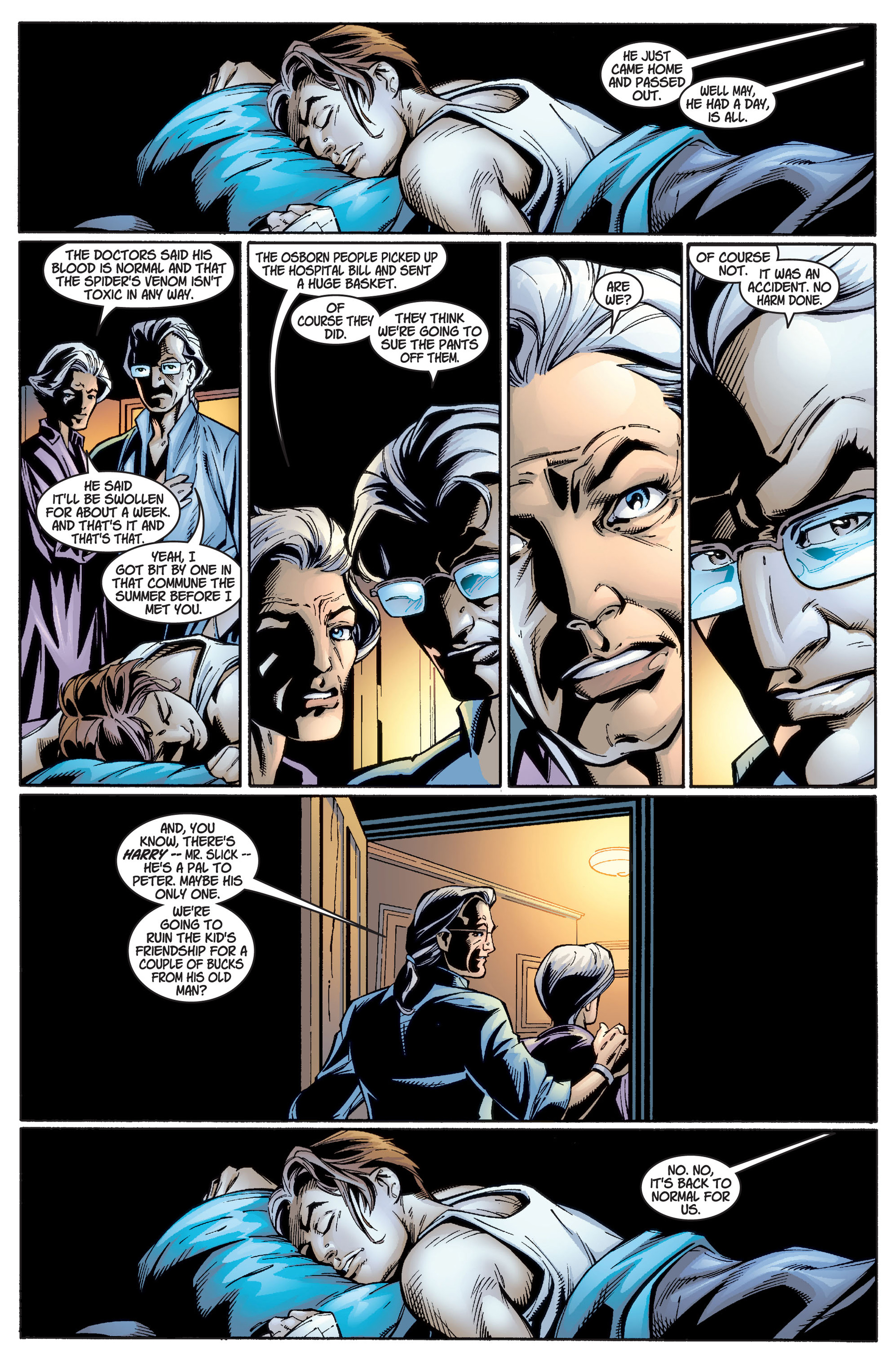 Read online Ultimate Spider-Man (2000) comic -  Issue #1 - 27