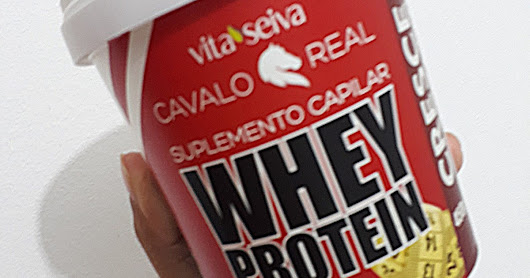 Suplemento Capilar Whey Protein Cavalo Real
