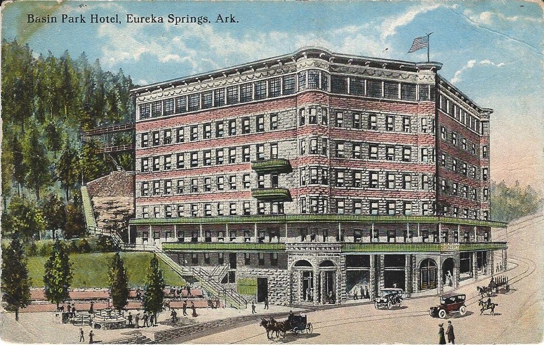 Basin Park Hotel Eureka Springs