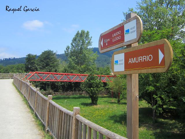 Parque lineal del Nervión de Amurrio a Llodio (Álava)